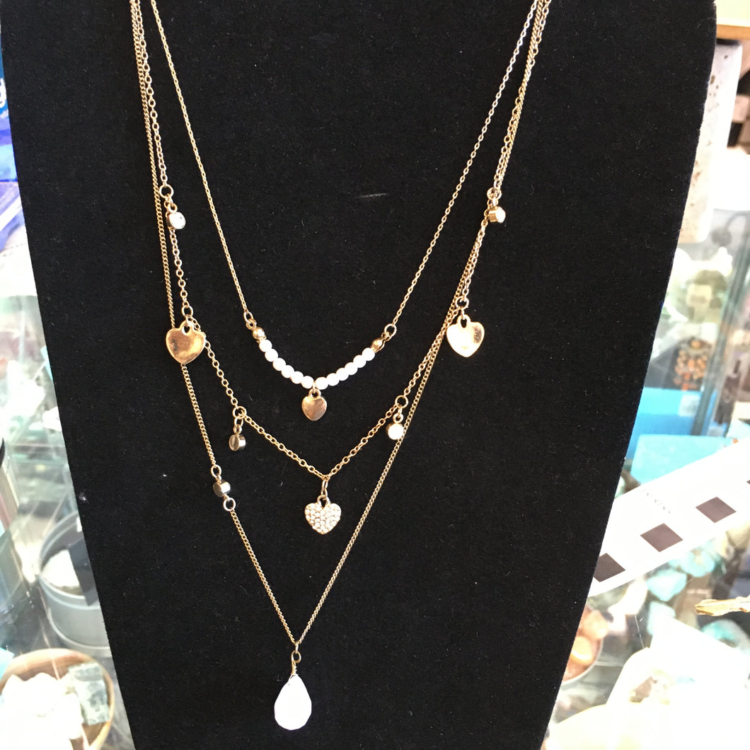 Triple Necklace Set