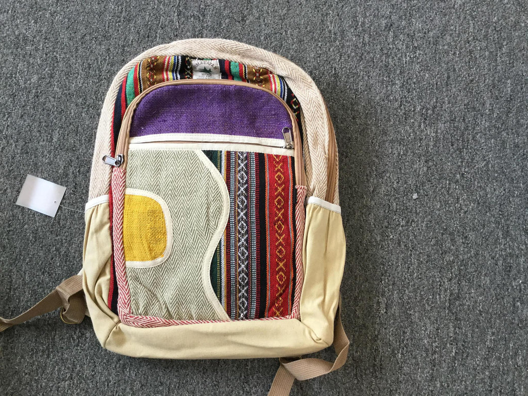 Large Hemp Backpack