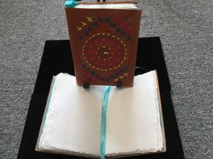 Embroidered Leather Journal