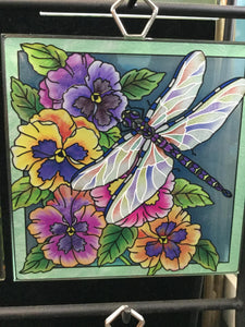 Amia Handcrafted Glass Plaques