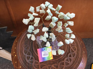 Natural Gemstone Crystal Tree