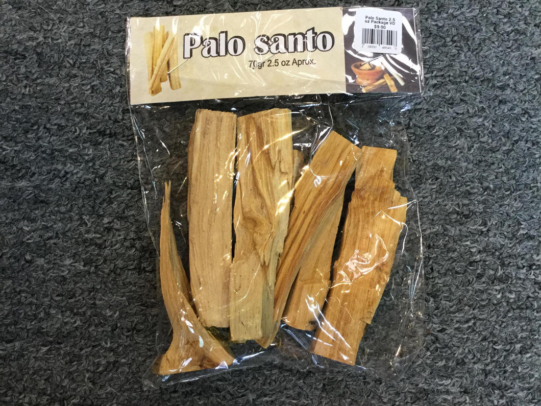 Palo Santo 2.5 oz Package