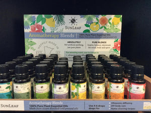 Sunleaf 100% Aromatherapy Blends