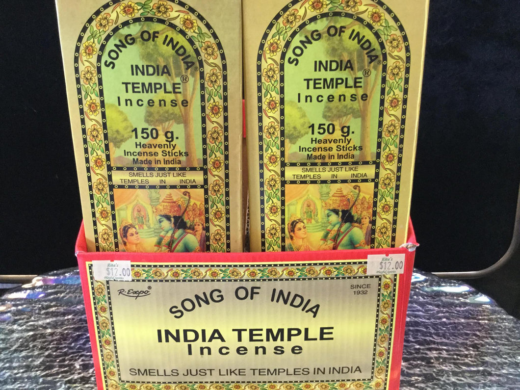 R.Expo India Temple 150 gr. Incence Sticks