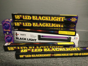 "L.E.D. 18"" Blacklight linkable Fixture"