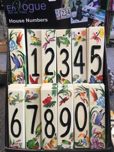 En Vogue House Numbers White