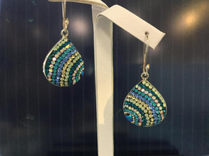 Mosaico Sterling Silver Earrings