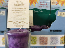 Load image into Gallery viewer, Reiki Votive Candles from Crystal Journey