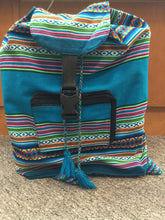 Load image into Gallery viewer, Peruvian Hand Woven Back Pack