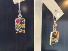 Load image into Gallery viewer, Mosaico Sterling Silver Earrings
