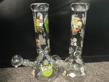 Load image into Gallery viewer, Rick and Morty Waterpipe W/Icecatcher