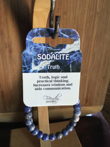 Sodalite Natural Stone Bracelet 8mm