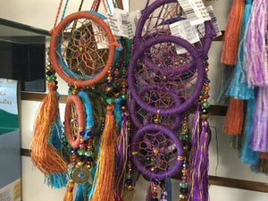 "8"" Double Crystal Dreamcatcher"