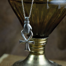 Load image into Gallery viewer, Ankh -- Pendant & Chain in Bronze or Silver | Hibernacula