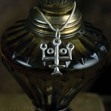 Load image into Gallery viewer, Aqua Vitae -- Alchemy Pendant in Bronze or Silver | Hibernacula