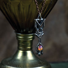 Load image into Gallery viewer, Key of the Crucible  -- Pendant in Bronze | Hibernacula