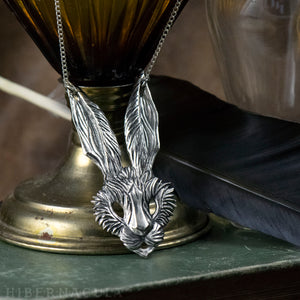 March Hare -- Necklace in Bronze or Silver | Hibernacula