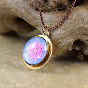 The Flower of Life - Sacred Geometery Pendant | Hibernacula