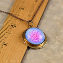 Load image into Gallery viewer, The Flower of Life - Sacred Geometery Pendant | Hibernacula