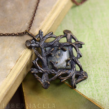 Load image into Gallery viewer, Sanctuary -- Jasper Pendant in Bronze or Silver | Hibernacula
