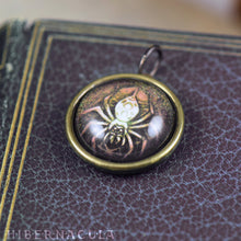 Load image into Gallery viewer, Spider Spirit -- Brass Animal Totem Pendant | Hibernacula