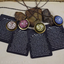 Load image into Gallery viewer, The Vegvísir Compass -- Norse Talisman | Hibernacula