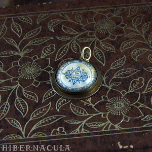 5th Pentacle Jupiter  -- A Talisman for Visions | Hibernacula
