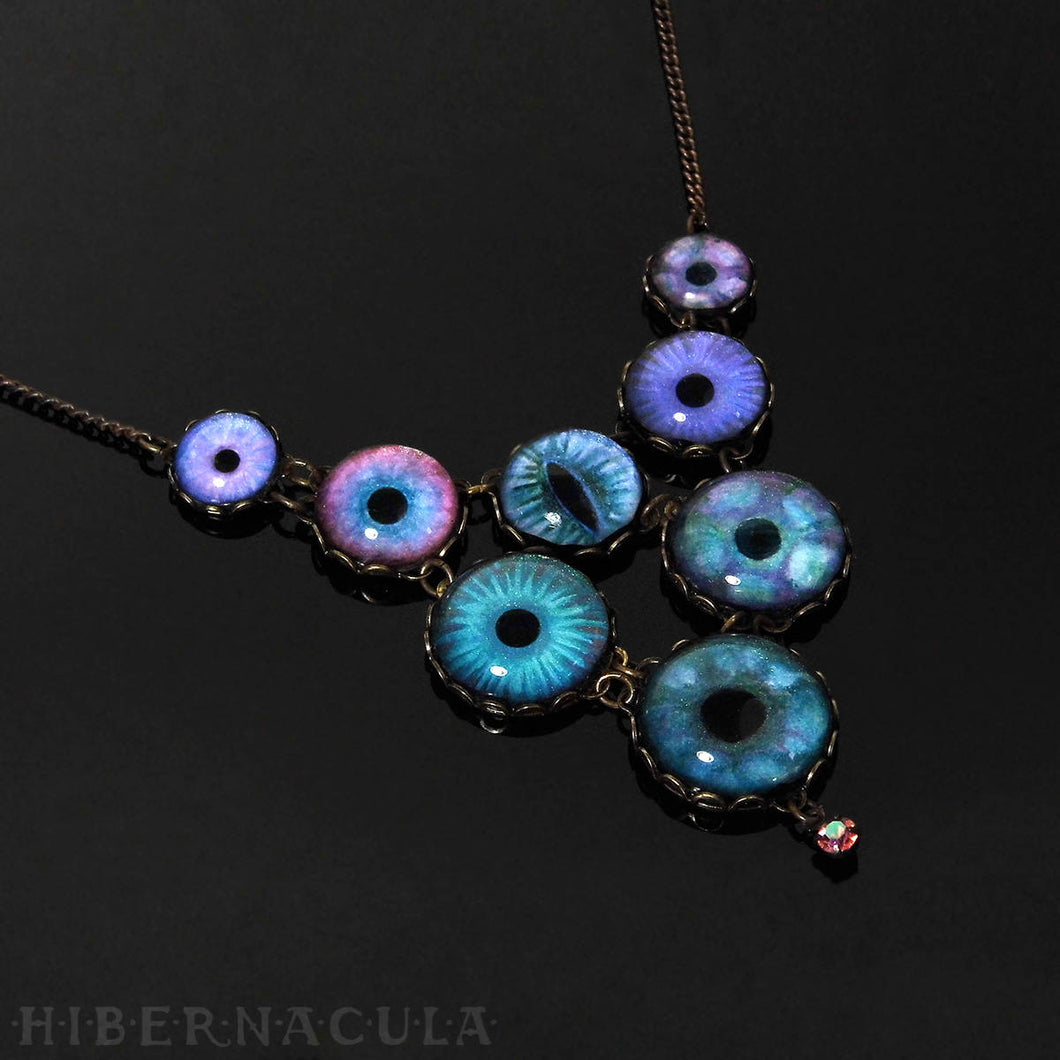 Midnight -- Numina Iris Necklace | Hibernacula