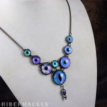 Load image into Gallery viewer, Eva -- Numina Iris Necklace | Hibernacula