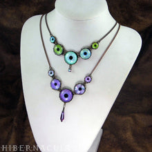 Load image into Gallery viewer, Numina Iris Choker/Necklace -- 4 Hues | Hibernacula