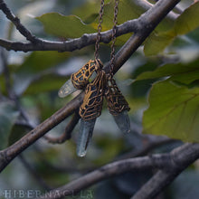 Load image into Gallery viewer, Kyanite Blade -- Crystal & Filigree Pendant | Hibernacula