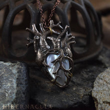 Load image into Gallery viewer, The Sacred Heart -- Anatomical Pendant | Hibernacula