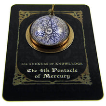 Load image into Gallery viewer, 4th Pentacle of Mercury -- A Talisman for Seekers of Knowledge | Hibernacula