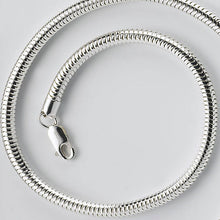 Load image into Gallery viewer, Sterling Silver Snake Chain | Hibernacula