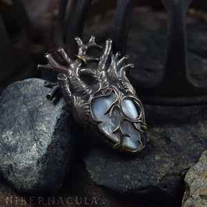 The Sacred Heart -- Anatomical Pendant | Hibernacula
