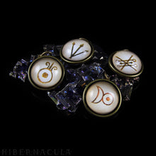 Load image into Gallery viewer, Alchemy Symbols -- Brass Pendants | Hibernacula