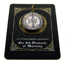Load image into Gallery viewer, 5th Pentacle of Mercury  -- A Talisman for Overcoming Barriers | Hibernacula