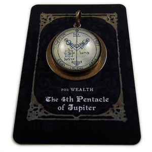 4th Pentacle of Jupiter -- A Talisman for Wealth | Hibernacula
