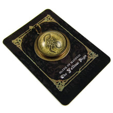 Load image into Gallery viewer, The Yellow Sign -- Glyph of Madness Pendant | Hibernacula
