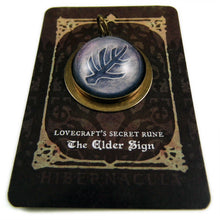 Load image into Gallery viewer, The Elder Sign -- Lovecraftian Pendant | Hibernacula