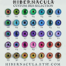 Load image into Gallery viewer, Numina Iris Earrings -- Stud/Hook with 35 Iris Designs | Hibernacula