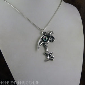 Key of Thoth -- Egyptian Pendant in Bronze or Silver | Hibernacula