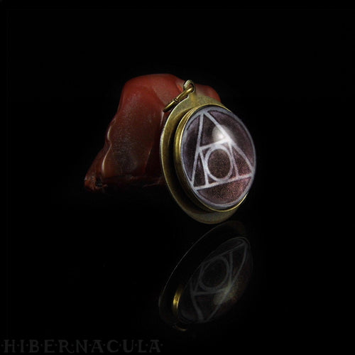 The Philosopher's Stone, Squared Circle -- Hermetic Amulet | Hibernacula