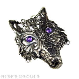 Wolf Prince -- Pendant In Bronze or Silver | Hibernacula