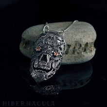 Load image into Gallery viewer, Calavera -- Gold Sapphire Mask in Bronze or Silver | Hibernacula