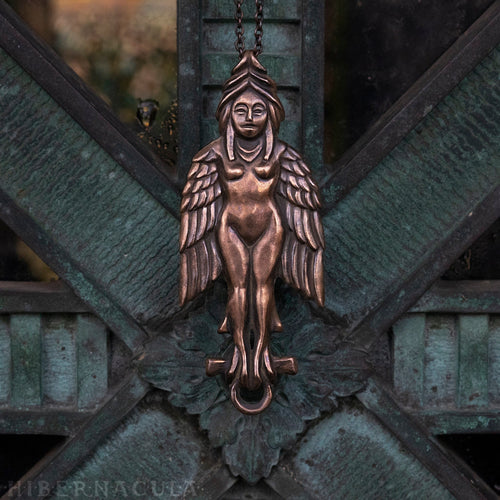Key of Lilith -- Pendant in Bronze or Silver | Hibernacula
