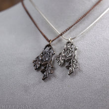 Load image into Gallery viewer, Oak Leaf -- Pendant in Bronze or Silver | Hibernacula