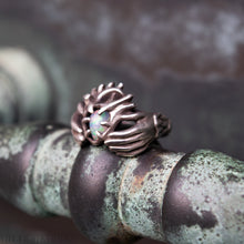 Load image into Gallery viewer, Claddagh Ring -- Traditional Celtic Pledge Ring in Bronze or Silver | Hibernacula