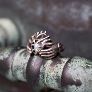 Claddagh Ring -- Traditional Celtic Pledge Ring in Bronze or Silver | Hibernacula