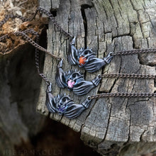 Load image into Gallery viewer, Claddagh Necklace -- Traditional Celtic Friendship Talisman in Bronze or Silver | Hibernacula